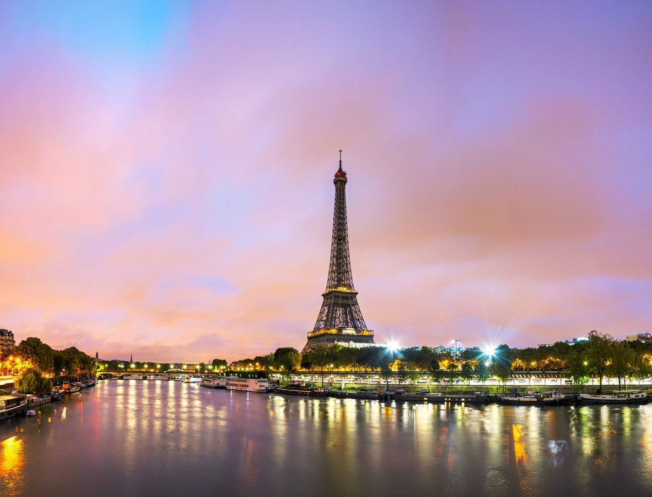 One of The Best Event Destinations In Europe Paris cityscape with Eiffel tower in the morning