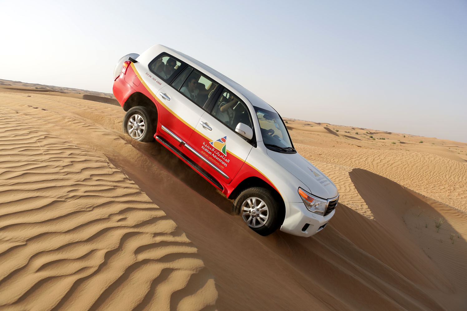 Fujitsu Dubai Incentive Travel desert jeep adventure