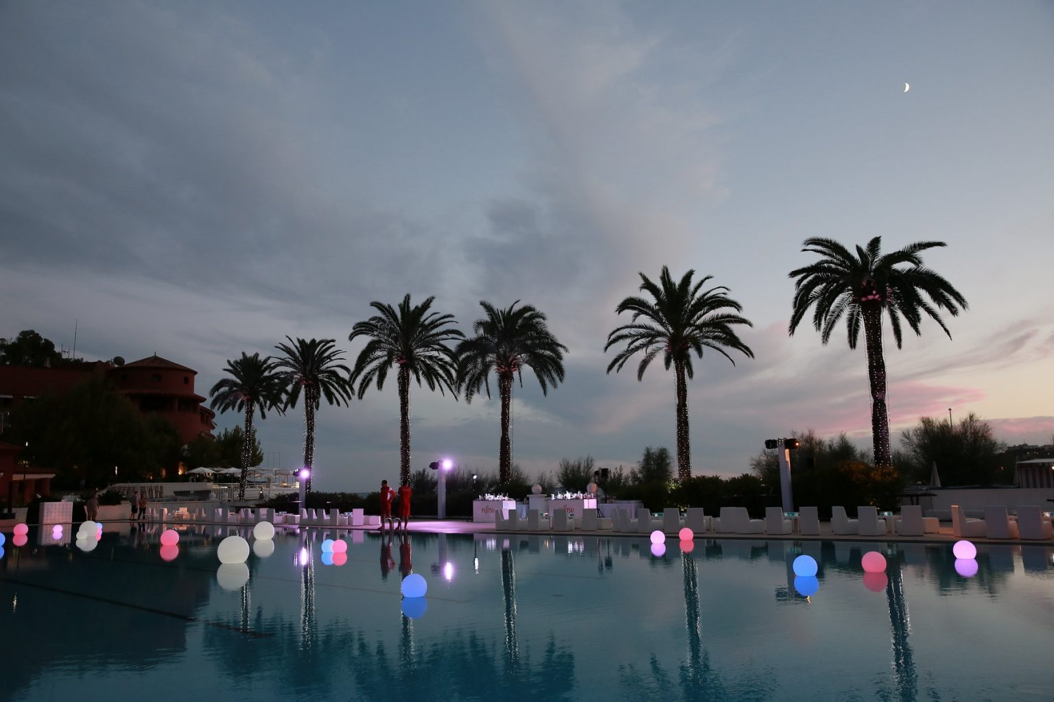 Le Deck Monte Carlo Pool Evening 11 - Le Deck Monte Carlo Pool Evening