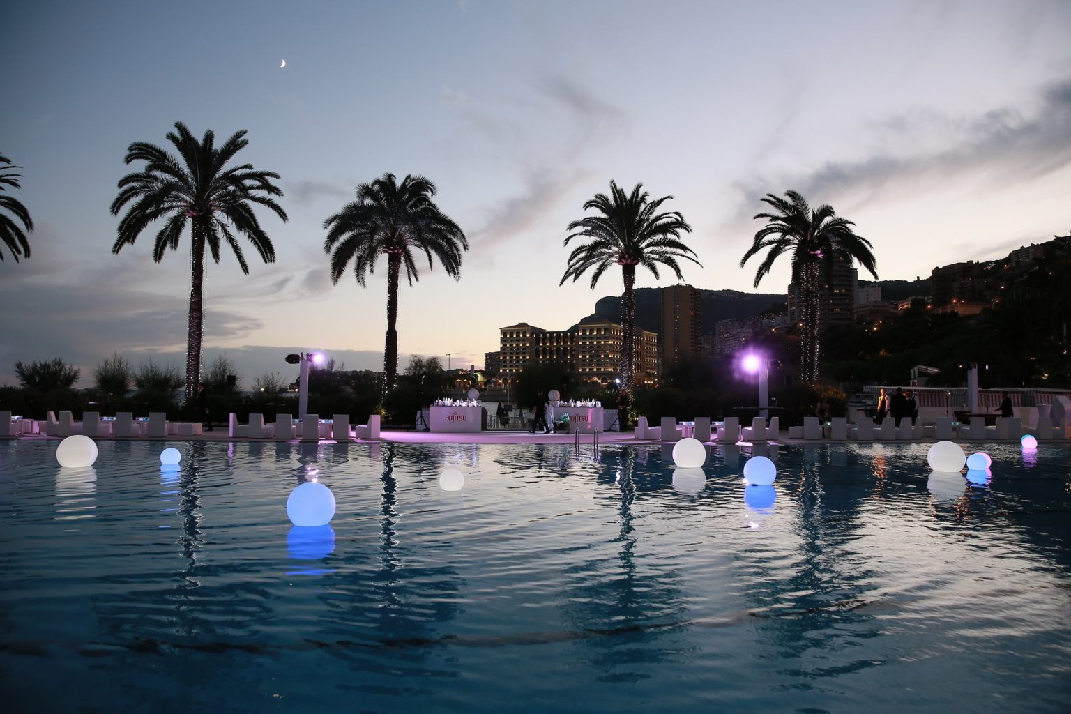 Le Deck Monte Carlo Pool Evening 14 - Le Deck Monte Carlo Pool Evening