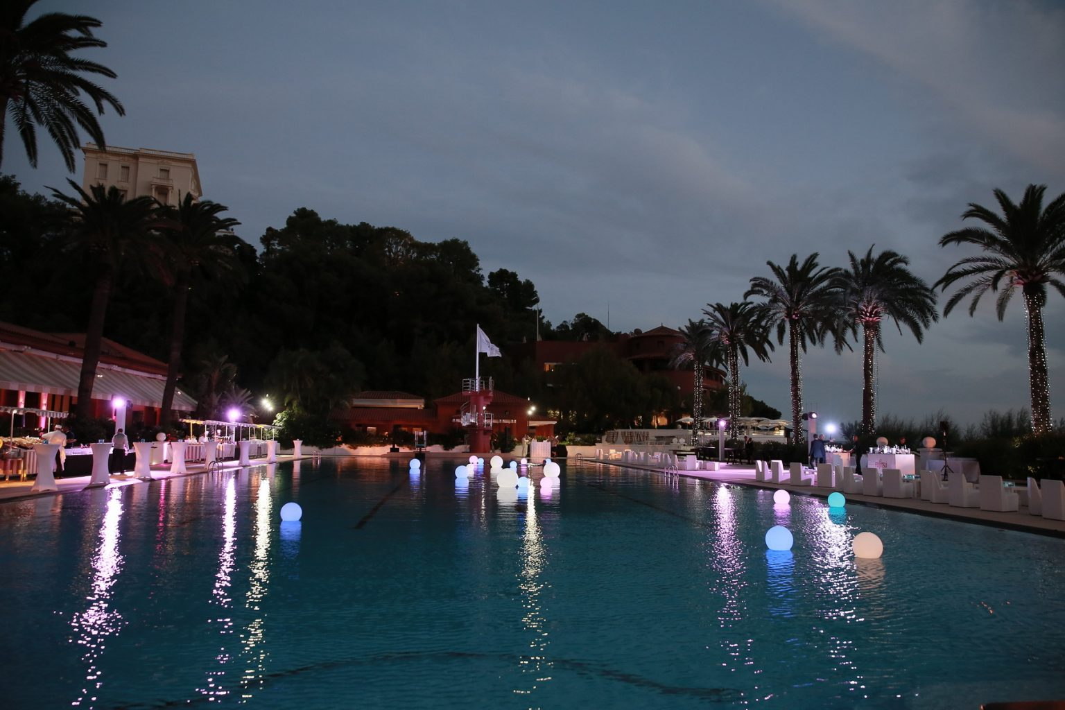 Le Deck Monte Carlo Pool Evening 15 - Le Deck Monte Carlo Pool Evening