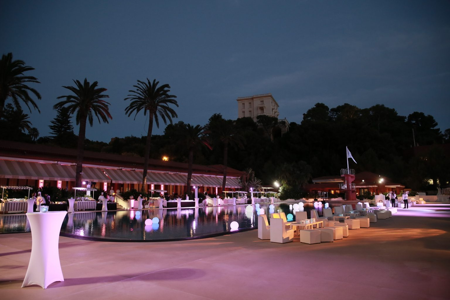 Le Deck Monte Carlo Pool Evening 18 - Le Deck Monte Carlo Pool Evening