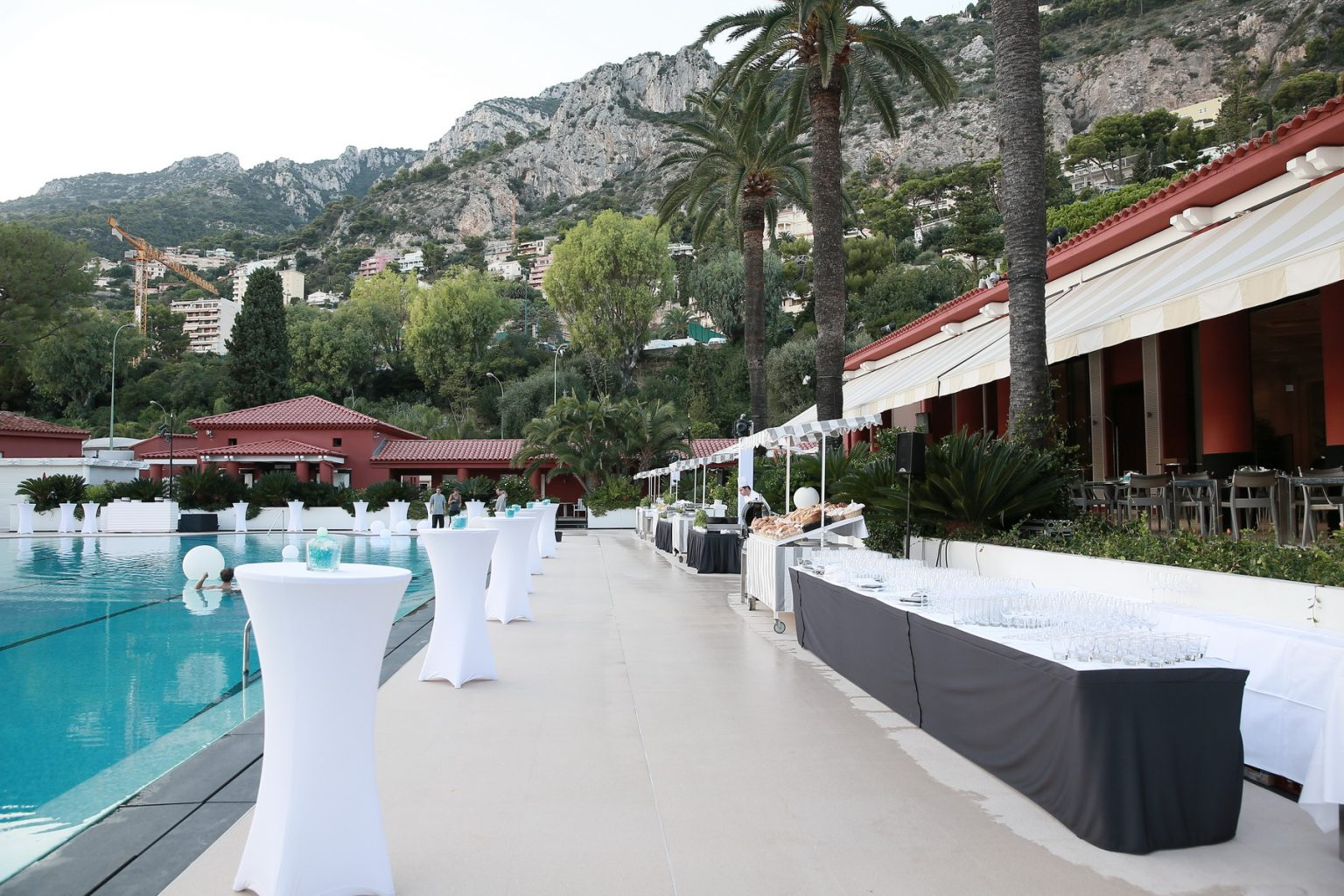 Le Deck Monte Carlo Pool Evening 2 - Le Deck Monte Carlo Pool Evening