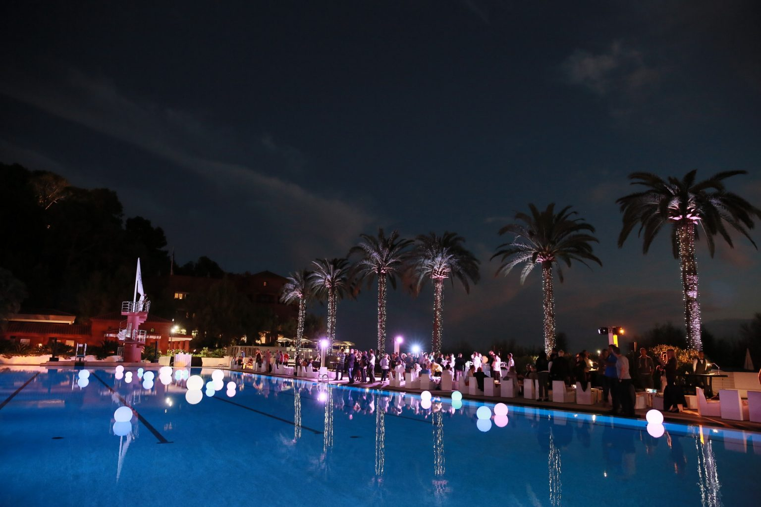 Le Deck Monte Carlo Pool Evening 20 - Le Deck Monte Carlo Pool Evening