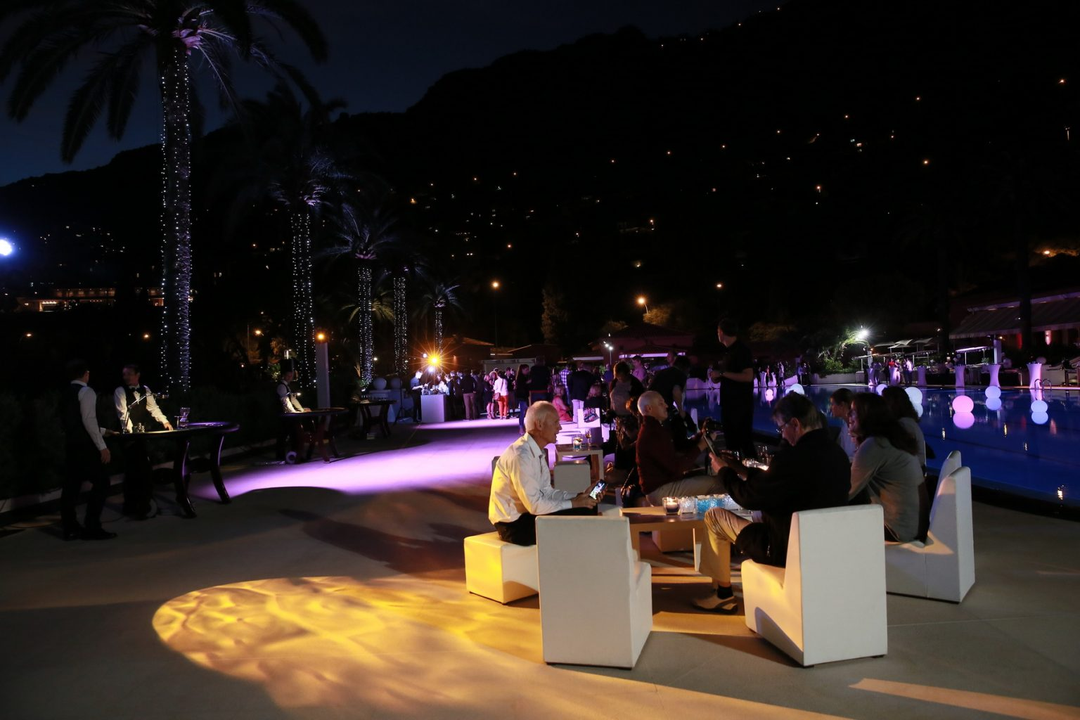 Le Deck Monte Carlo Pool Evening 24 - Le Deck Monte Carlo Pool Evening