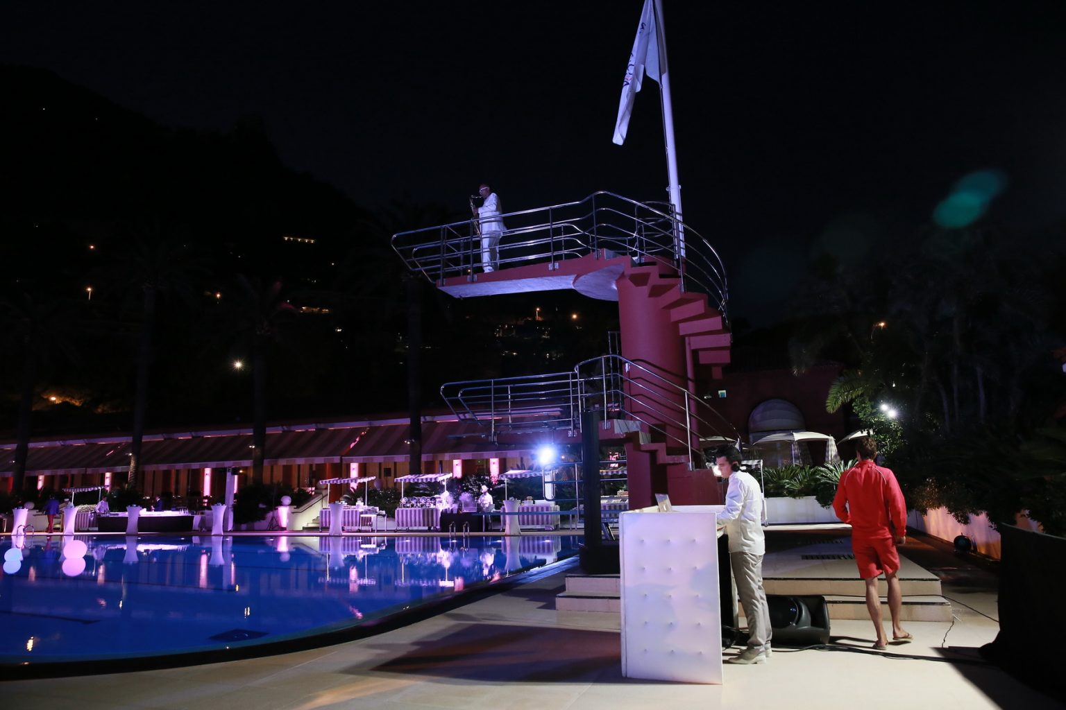 Le Deck Monte Carlo Pool Evening 25 - Le Deck Monte Carlo Pool Evening