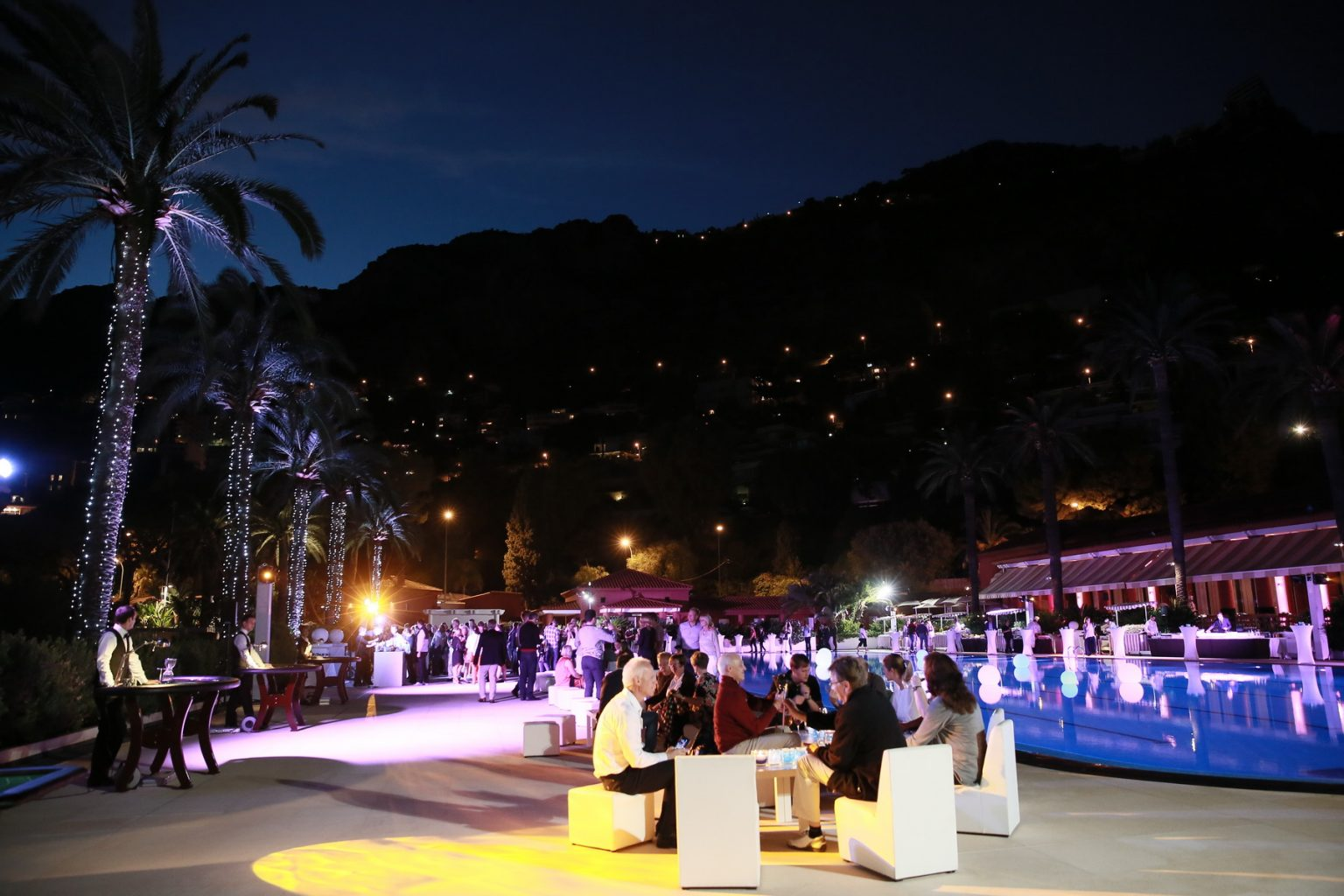 Le Deck Monte Carlo Pool Evening 26 - Le Deck Monte Carlo Pool Evening