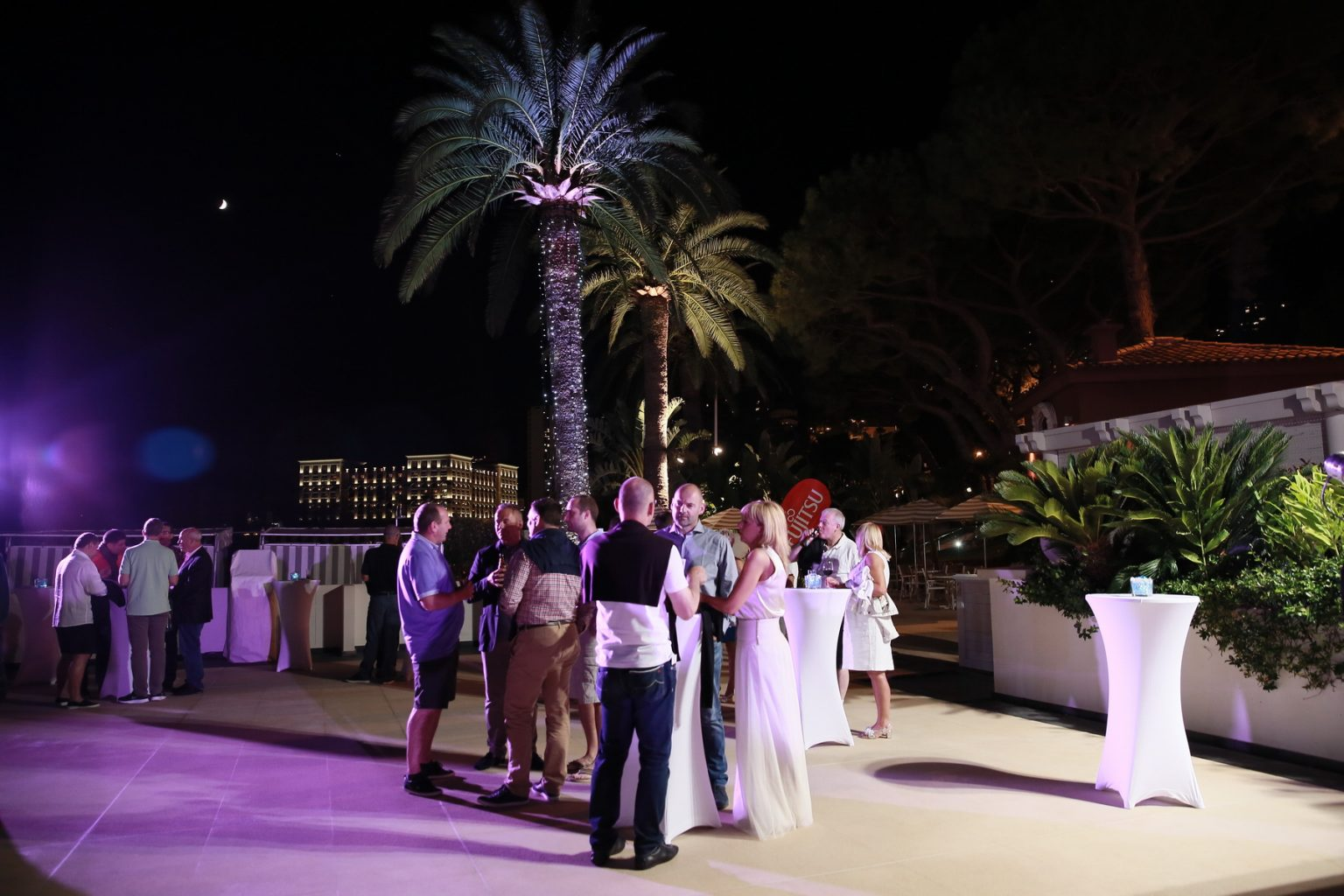 Le Deck Monte Carlo Pool Evening 29 - Le Deck Monte Carlo Pool Evening