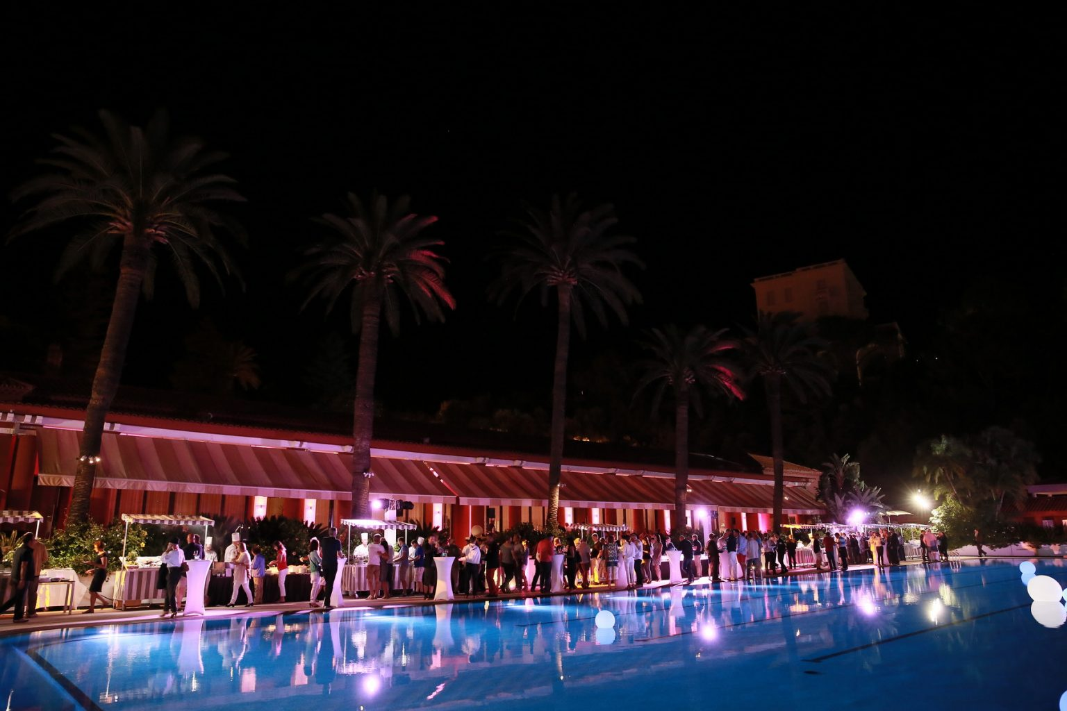 Le Deck Monte Carlo Pool Evening 33 - Le Deck Monte Carlo Pool Evening