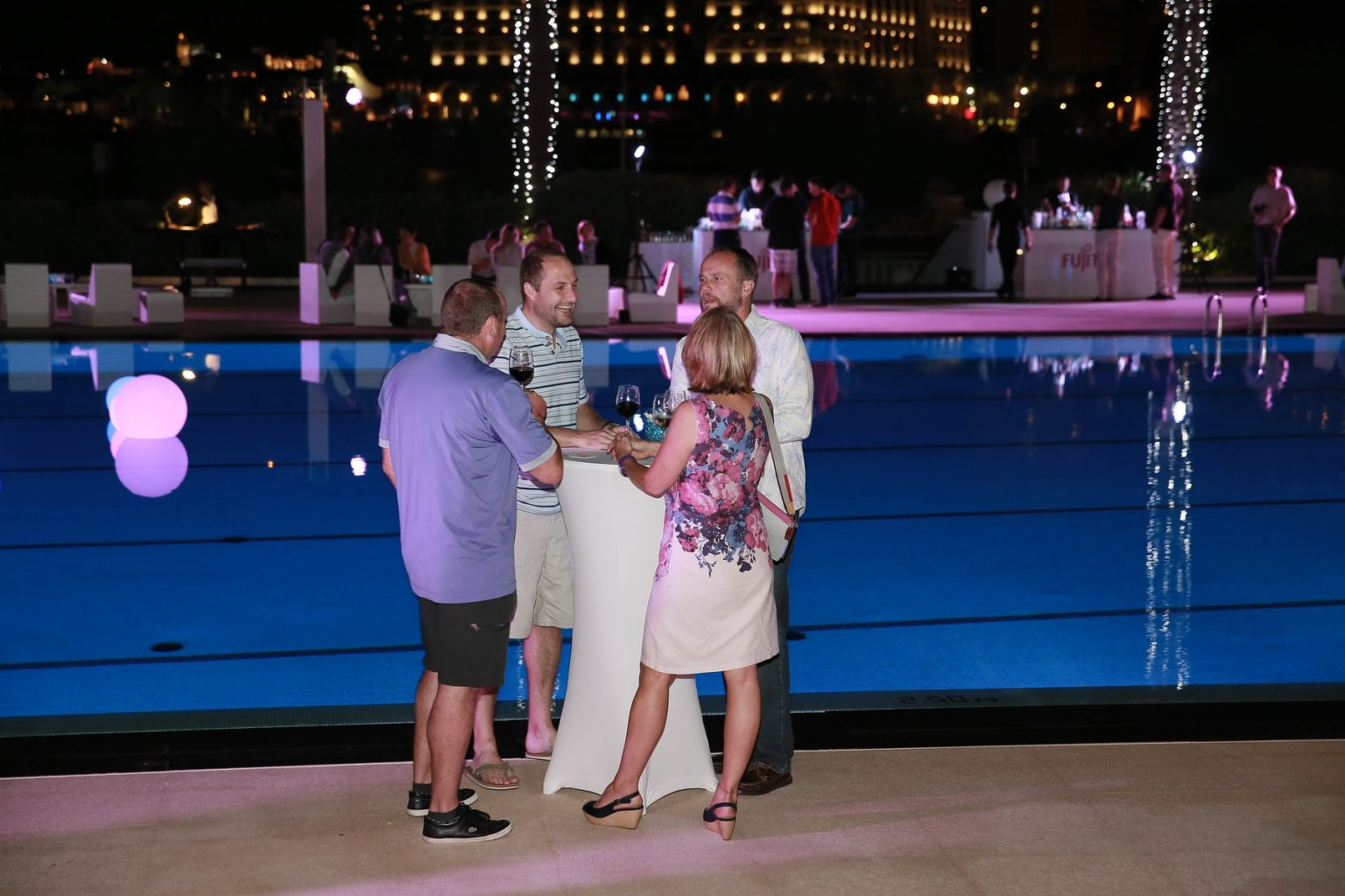 Le Deck Monte Carlo Pool Evening 35 - Le Deck Monte Carlo Pool Evening
