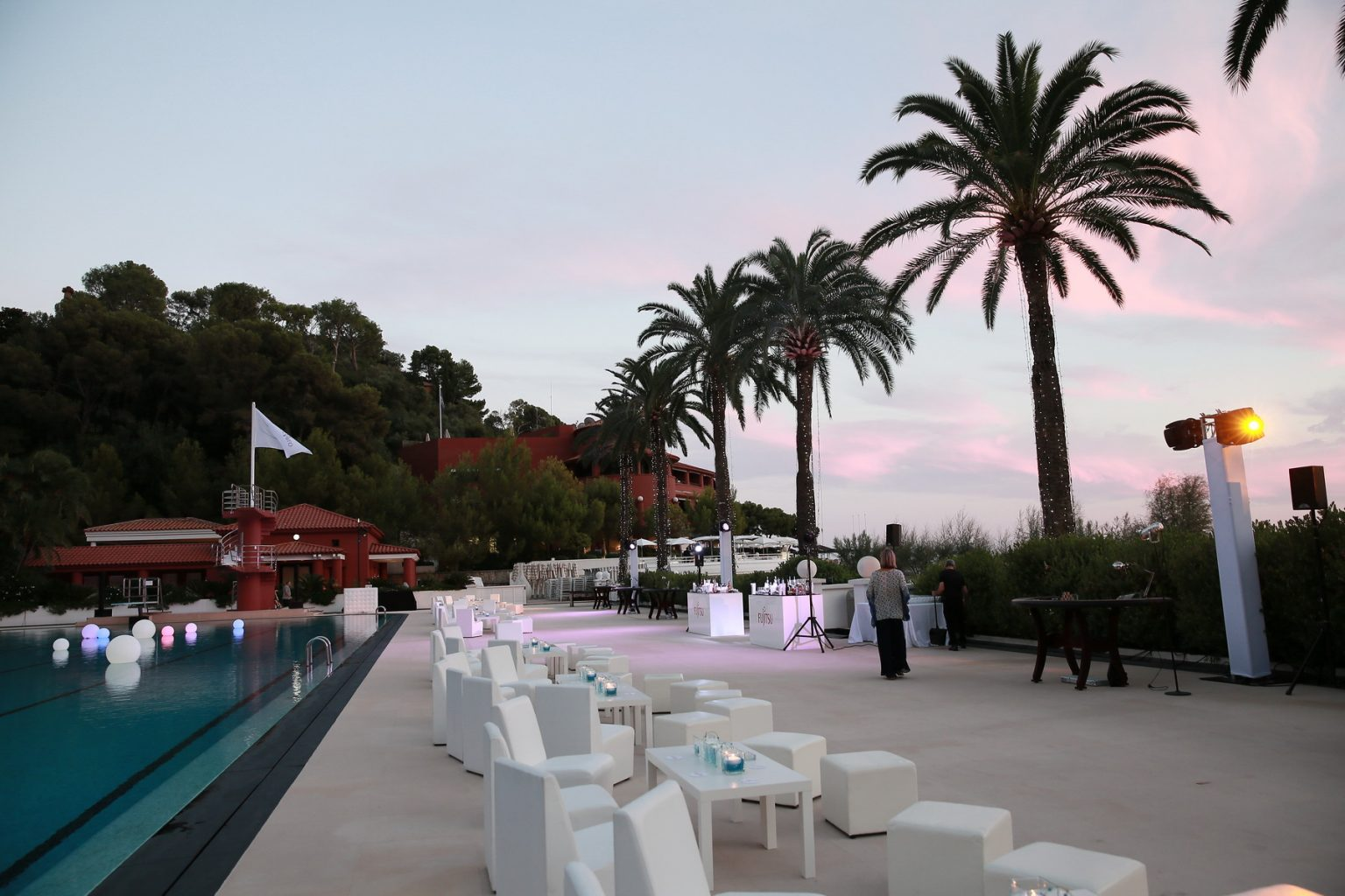 Le Deck Monte Carlo Pool Evening 4 - Le Deck Monte Carlo Pool Evening