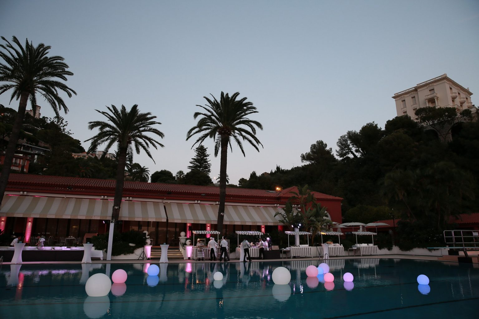 Le Deck Monte Carlo Pool Evening 6 - Le Deck Monte Carlo Pool Evening