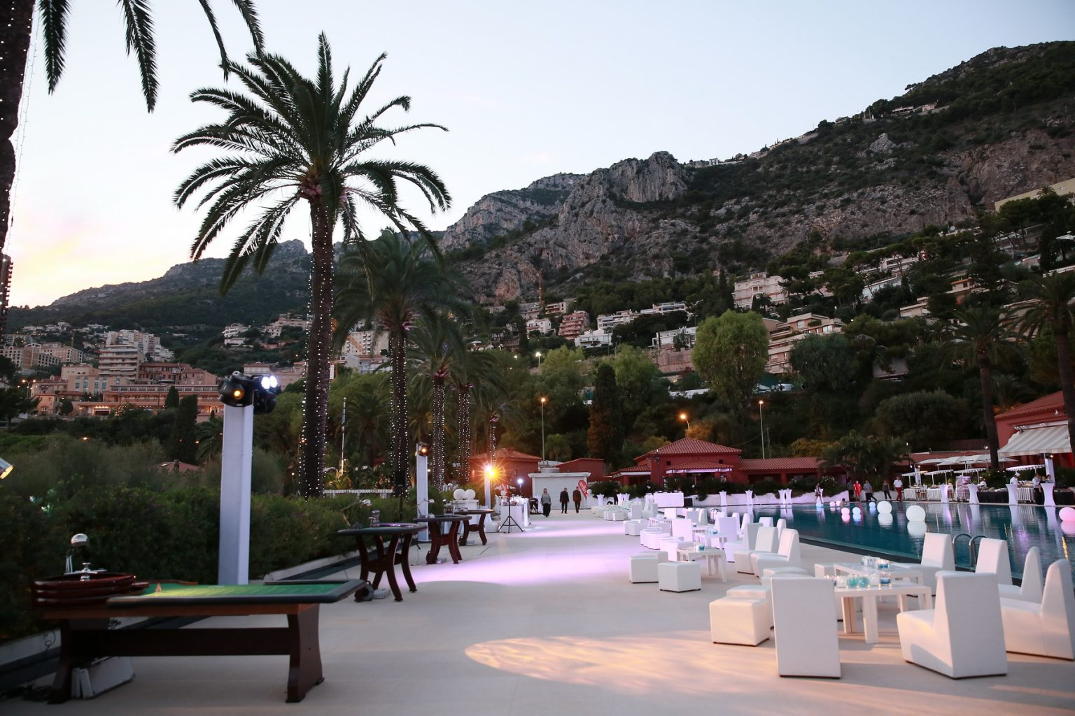 Le Deck Monte Carlo Pool Evening 7 - Le Deck Monte Carlo Pool Evening