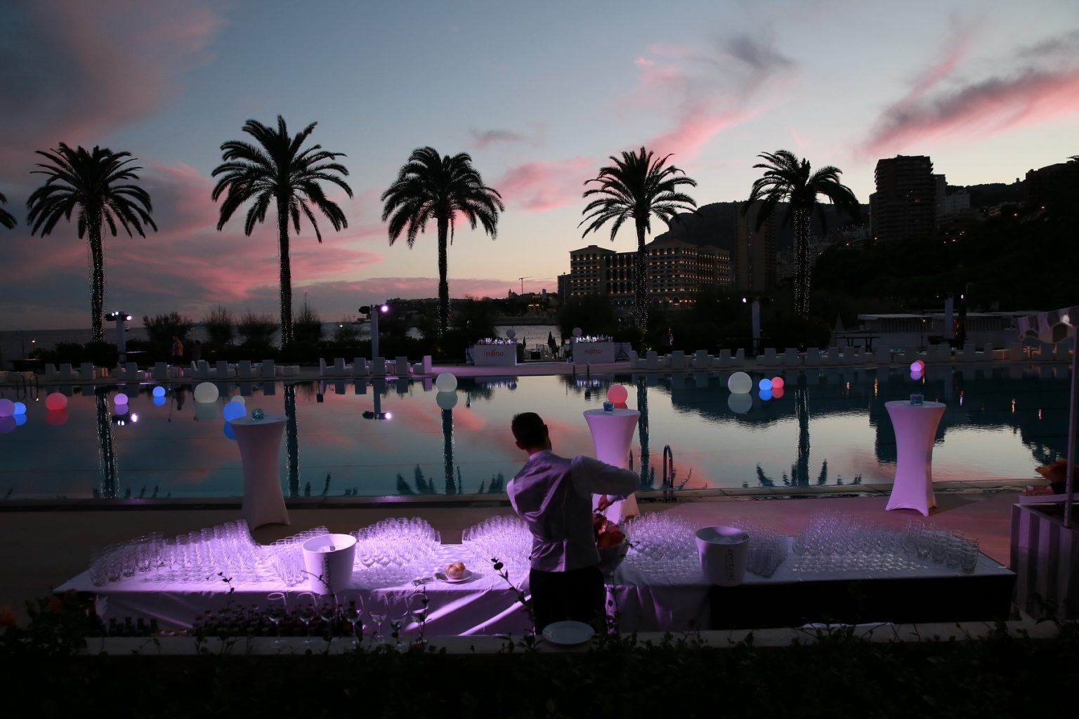 Le Deck Monte Carlo Pool Evening 9 - Le Deck Monte Carlo Pool Evening