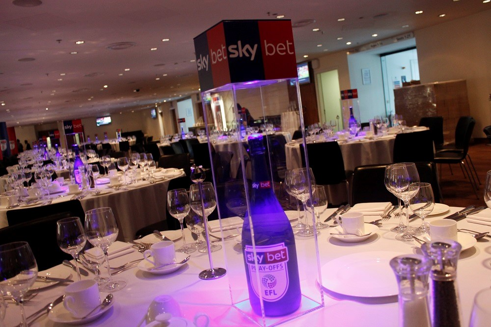 bespoke centrepiece for events - Table Art for Corporate Events - Guest blog