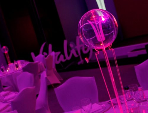 Table Art for Corporate Events – Guest blog