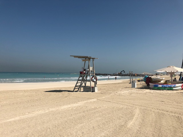 dubai beach party 1 - Beach Party in Dubai
